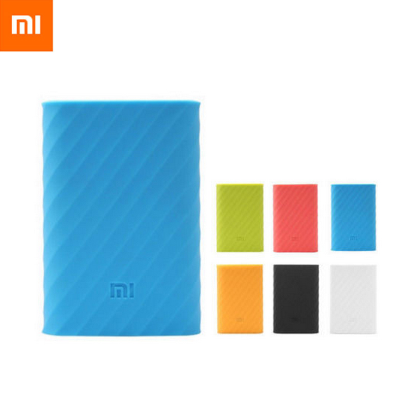 brand new 8b302 f3bc0 New Free shipping High Quality Soft Silicone Rubber Protective Cover For  Xiaomi 10000mah Power Bank Case Skin Wholesale
