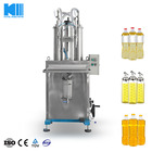 Semiautomatic Hair Gel/Mousse Filling Bottling Packing Machine Plant