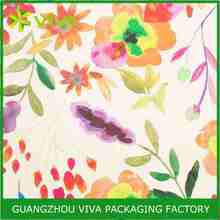 Splashy Floral Wrapping paper wrap