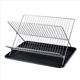 chrome plate holder foldable wire dish racks cheap price with small packing size