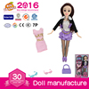 Plastic 2016 Modern Dolls for Children With Glasses