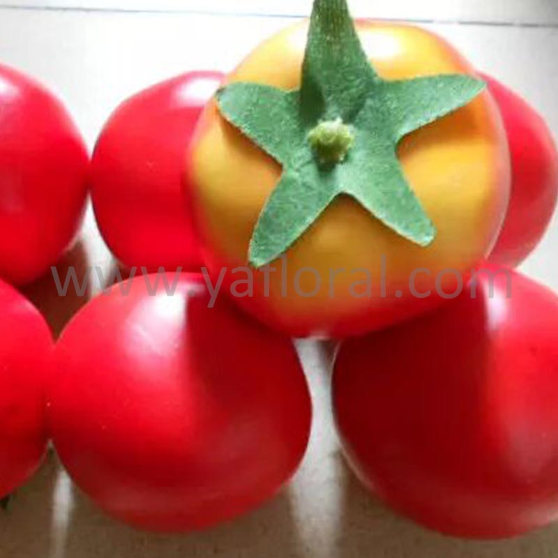 Trade assurance artificial tomato fake tomato for sale fruits and vegetable display
