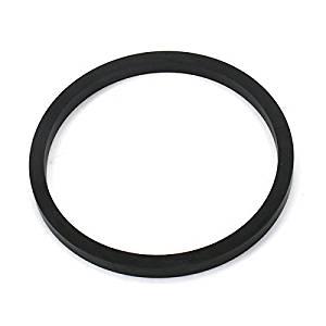Ninth-City 2Pcs 22-45mm Dustproof Motorcycle Oil Seals Rectangular Ring Black - NO.003