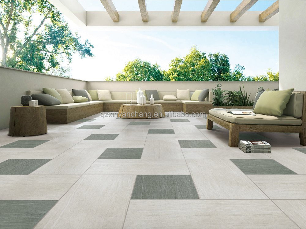 newest high quality rough courtyard outdoor floor ceramic tiles