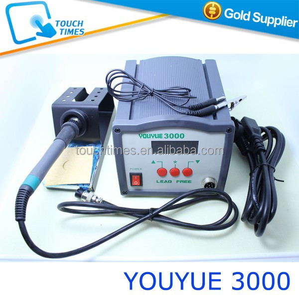 On Sale YOUYUE 3000 Soldering Iron Lead Free Antistatic Soldering Station BGA Rework Station