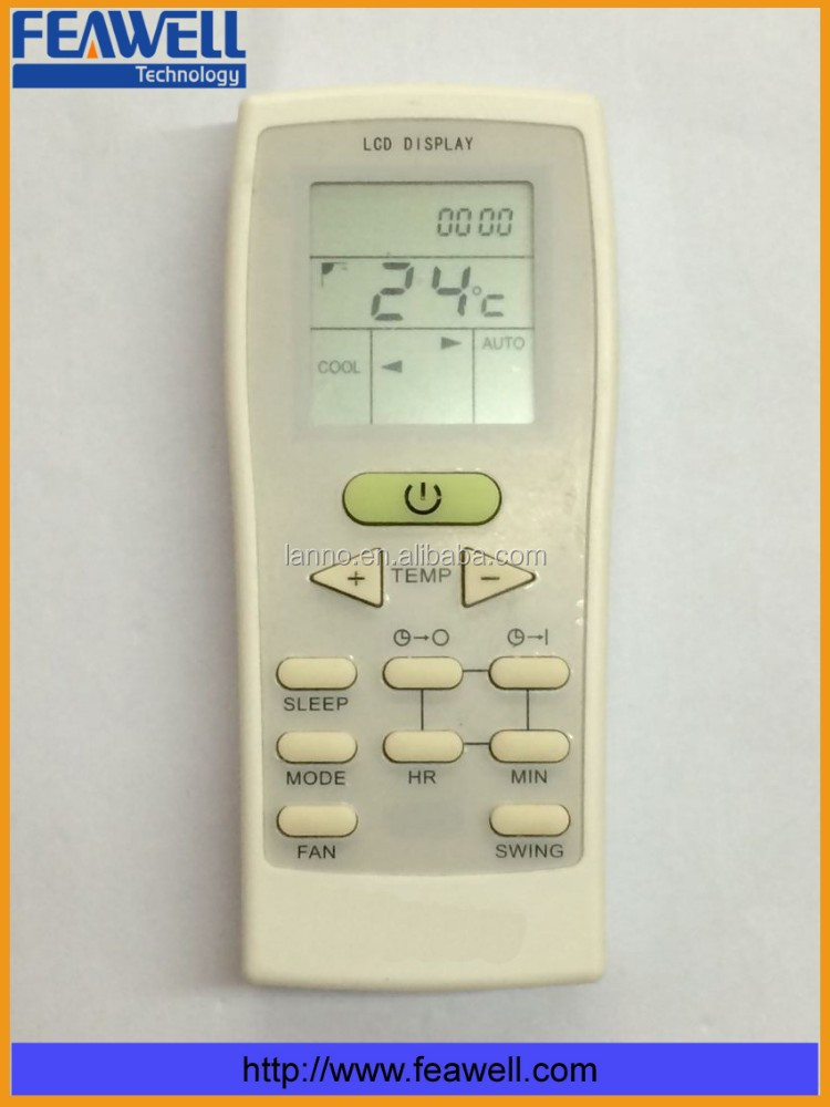 Hot And Cold York Air Conditioner Remote Control(gz-12a-e1) - Buy Hot York Air  Conditioner Remote Control,Air Conditioner Remote Control,Hot Remote  Control ...