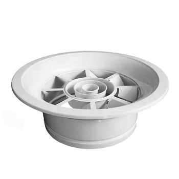 HVAC automatic air vent ceiling air vent registers round swirl air diffuser