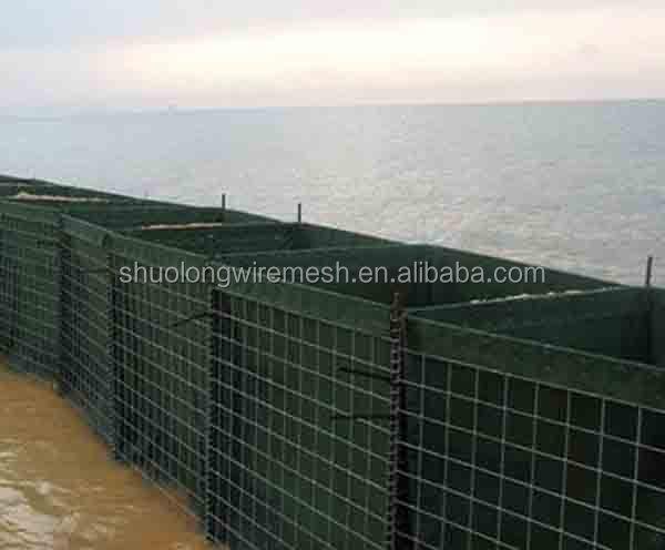 Fournitures Militaires Mil 3 Sable Mur Hesco Barrières Prix, Barrière Anti  Inondation, Boîtes