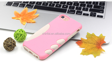 Fashionable phone accessories silicone case for iphone 7