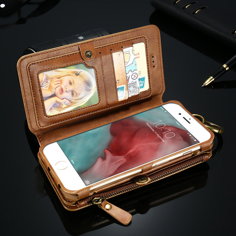 FLOVEME Best Selling Cell Phone Wallet For iPhone Pu Leather Wallet Cover Case For iPhone Wallet Mobile Phone Cases