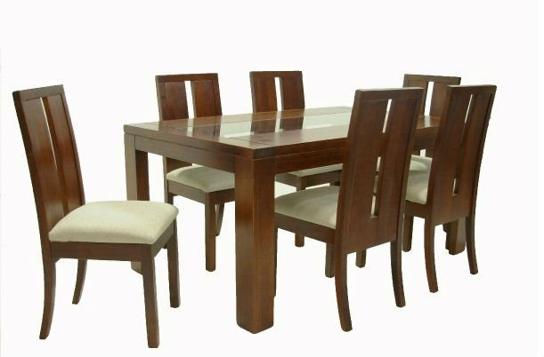 Sillas de comedor juego de comedor con mesa y sillas with for Sillas comedor sevilla