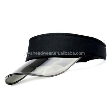 a79414dbc76 Transparent Clear PVC bill visor cap