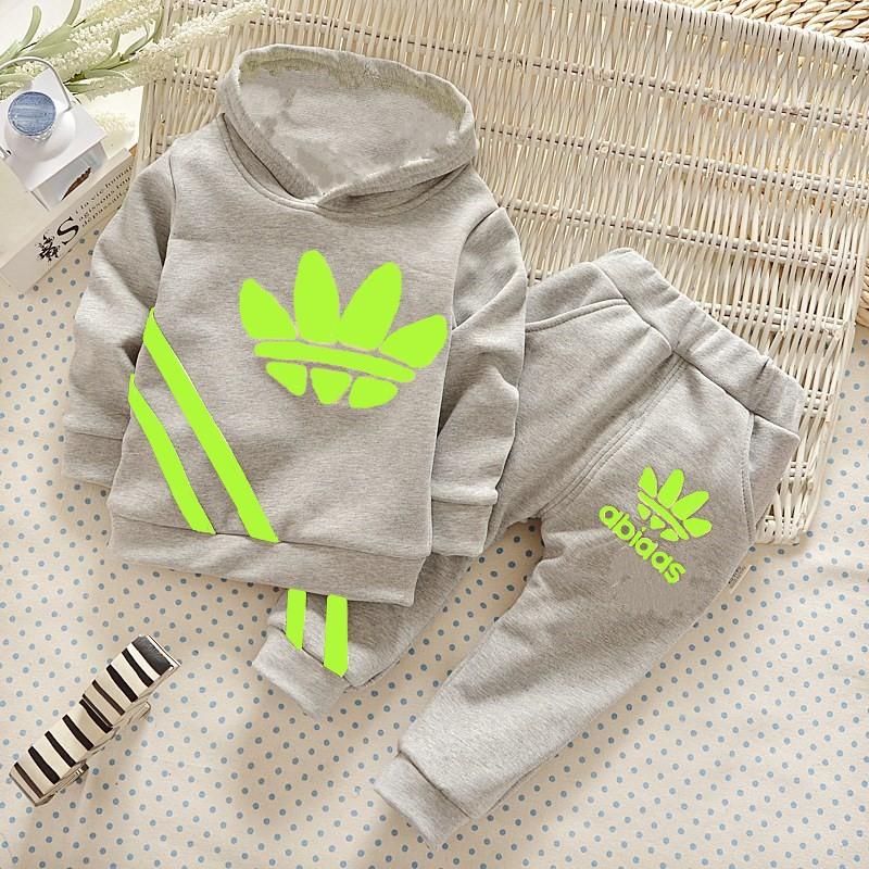 2016 Kids Clothes Boy Kids Toddler Baby Long Jacket+pants Trousers Set 2pcs Tracksuits Clothes Sport Kids Boys Clothes