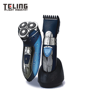 Electric Shaver with hair trimmer set