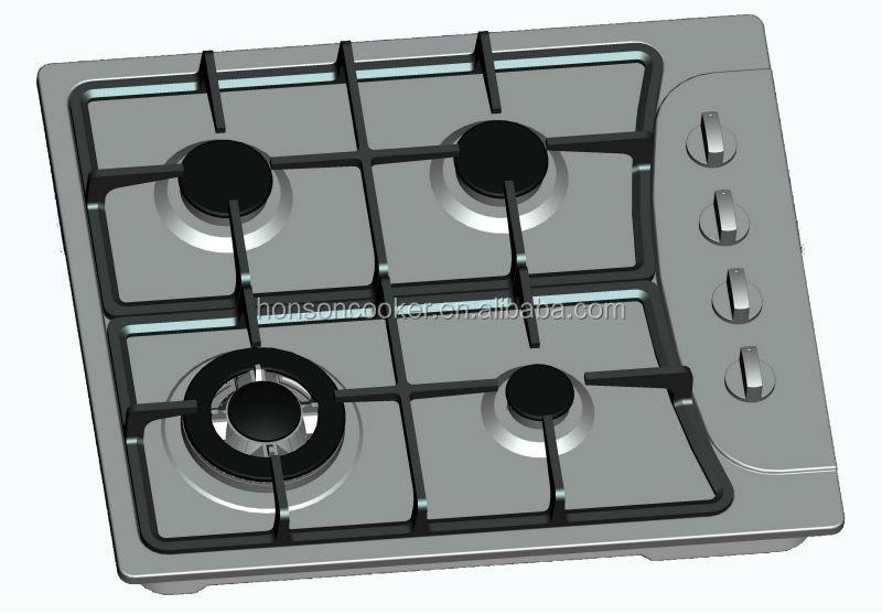 gas und elektro kombination herd 4 brenner alle marken gasbrenner kochfeld cooktop produkt id. Black Bedroom Furniture Sets. Home Design Ideas