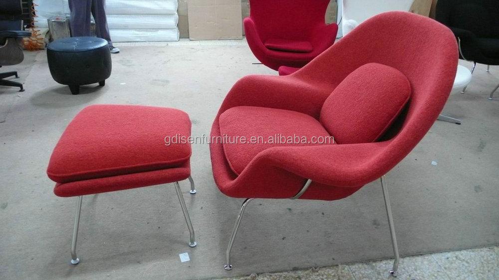 Salón womb chair y Otomano muebles de diseño silla de la Sala-Sillas ...