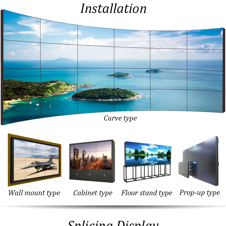 47Inch Wall Mounted Hd Android Lcd Digital Signage Advertisement Tv