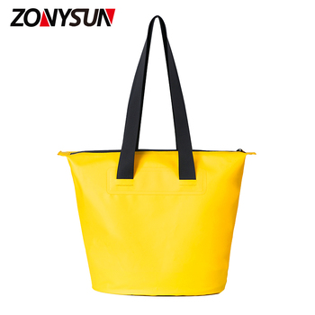 Pvc Foldable Waterproof Dry Bag Handbag Shopping Bag