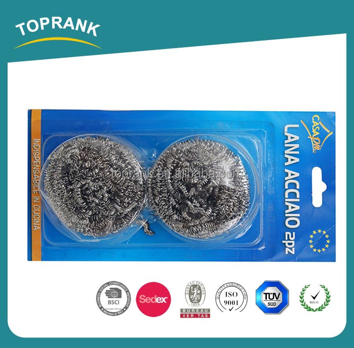 galvanized iron wire stainless steel cleaning ball, galvanised wire scourers