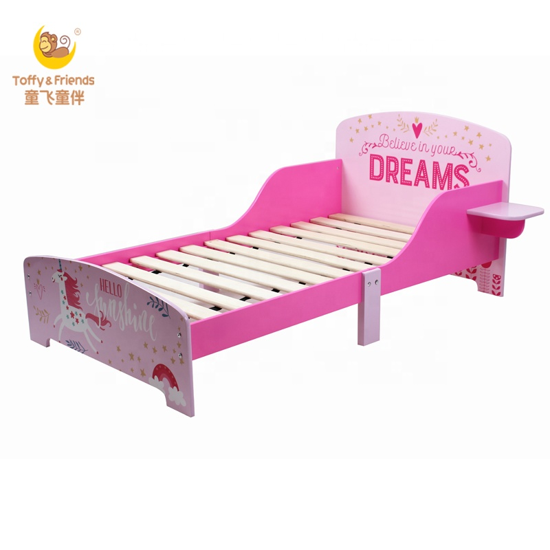 Pleasant Toffy Friends Girl Single Bed Wooden Toddler Bed In Swan Unicorn Design Buy Toddler Bed Girl Bed Wooden Kids Bed Product On Alibaba Com Creativecarmelina Interior Chair Design Creativecarmelinacom