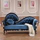 Factory direct french design hotel antique chaise lounge sofa