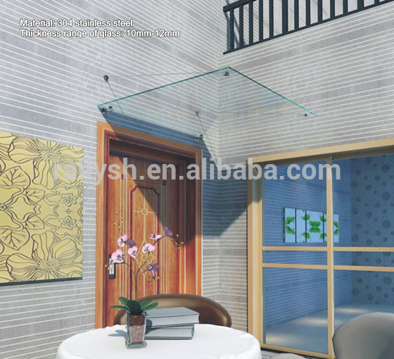 door canopy awning parts door canopy awning parts suppliers and manufacturers at alibabacom - Glass Tile Canopy 2016