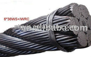 Good price steel wire rope certificate With CE and ISO9001 Certificates