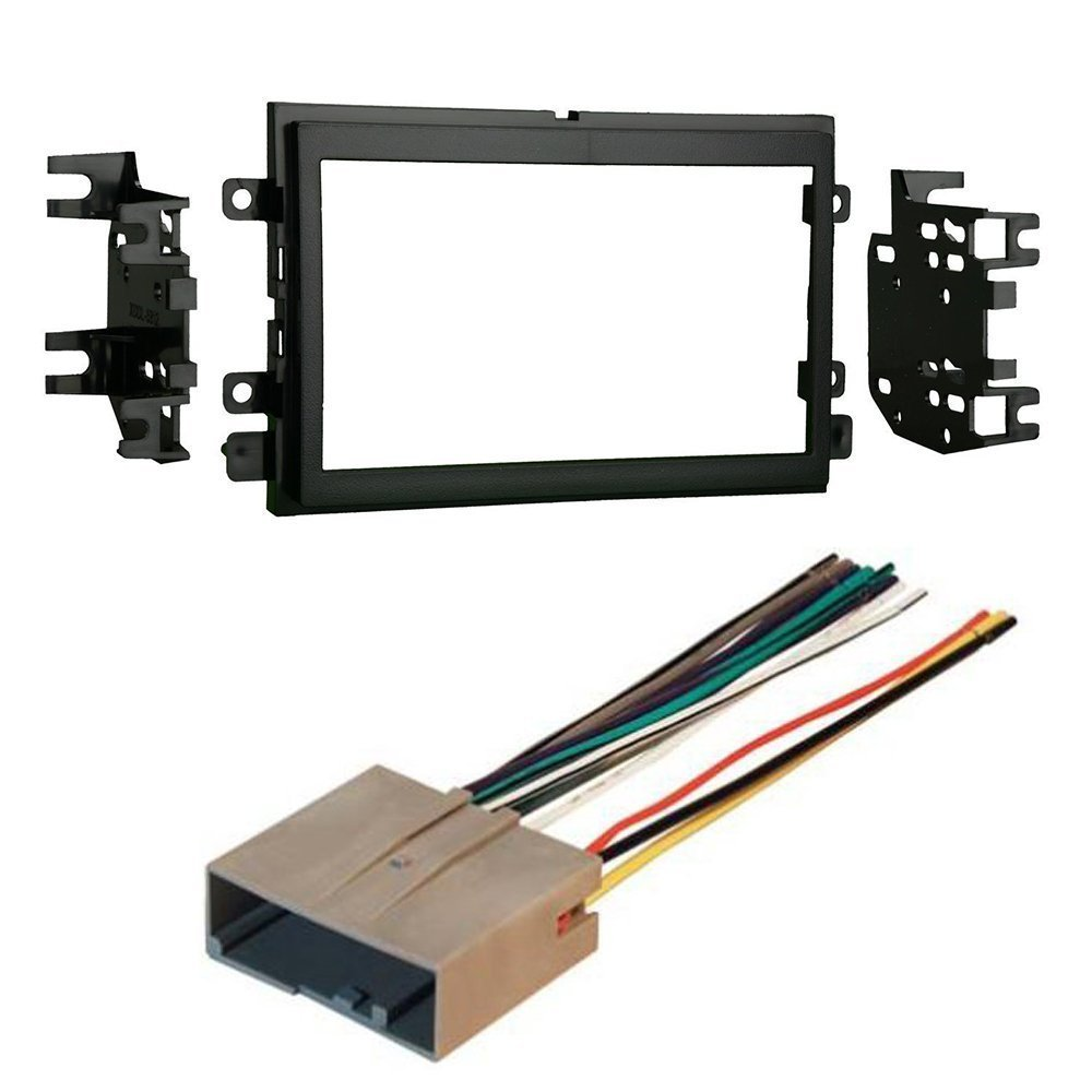 FORD 2009 - 2013 ECONOLINE CAR CD STEREO RECEIVER DASH INSTALL MOUNTING KIT  WIRE HARNESS
