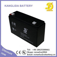 long life 6v12ah rechargeable lead acid battery rechargeable for electric toy car