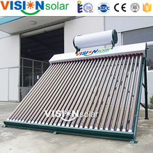 High quality manifold glass solar evacuated tube collector