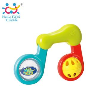 Huile Toys baby plastic rattle toys for kids