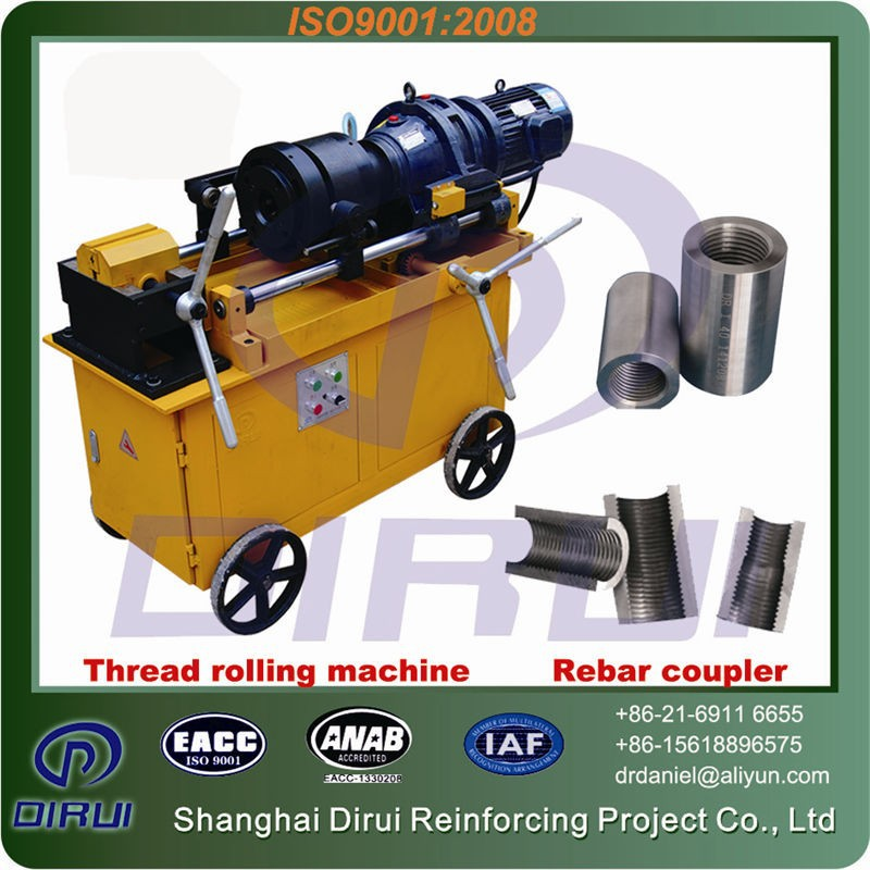Rebar tapered Dia16-40mm thread rolling second hand/Screw making machine for steel construction
