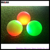 2016 new arrival large transparent fluorescent golf ball