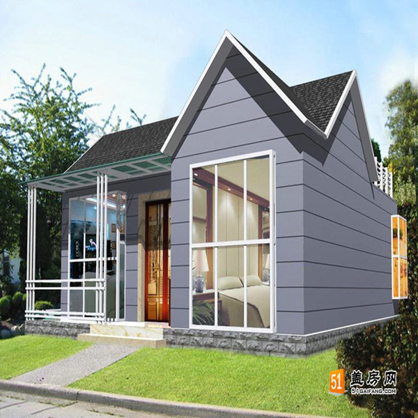 small house light steel structure Prefab Villa for Sweden Market