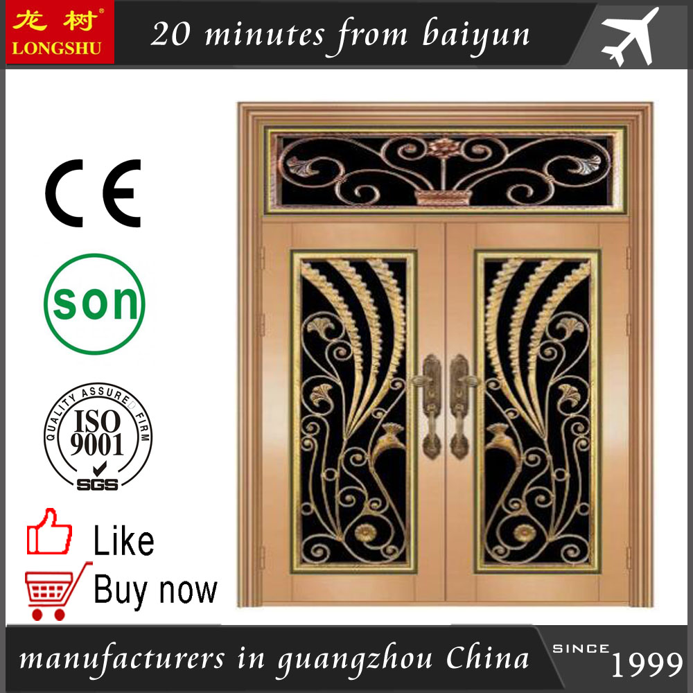 indian house main gate designs refrigerator <strong>door</strong> from guangzhou factory