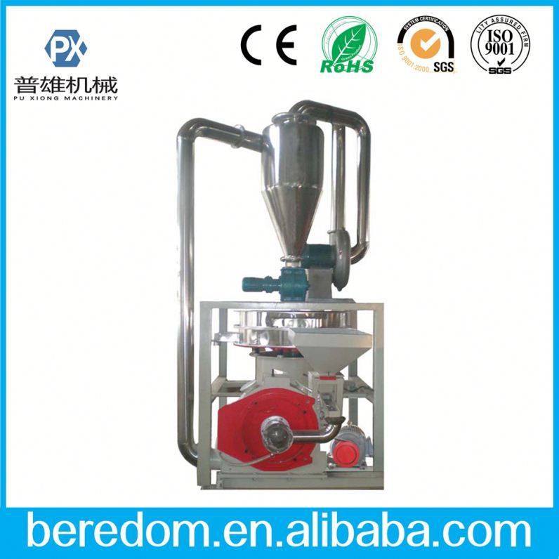 Automatic Pvc Flakes Shoes Recycling Mill Grinder Machine