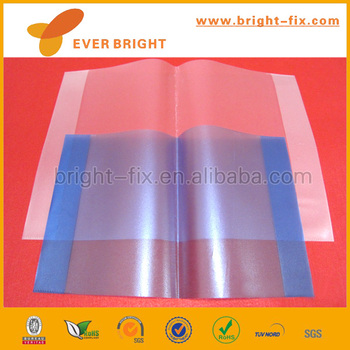 A4 Size Transparent Colored Plastic Sheet Self Adhesive Transparent