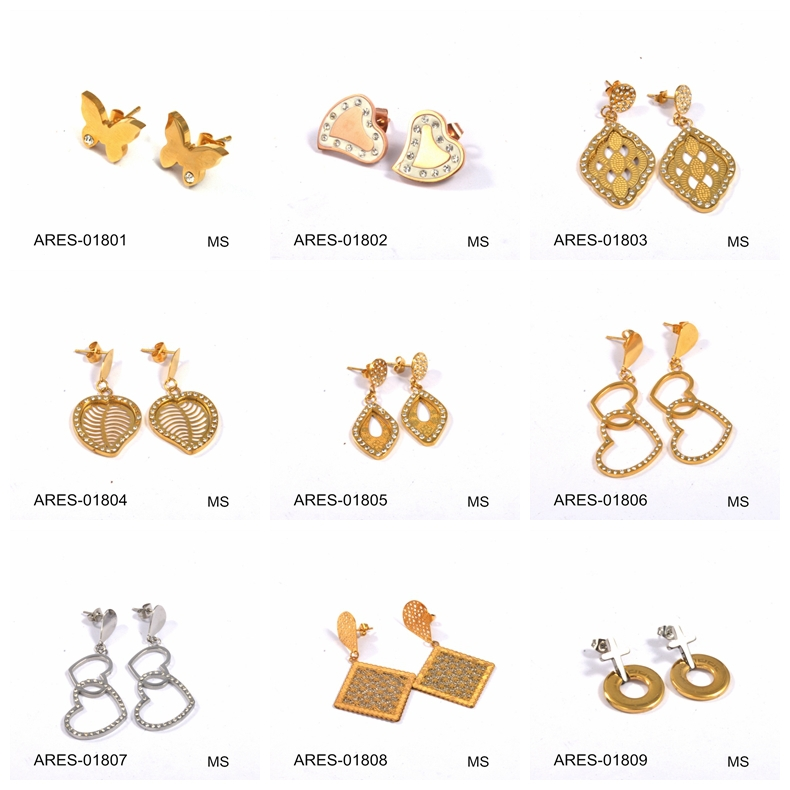 Wedding Accessories Small Earring Top Cheap China Earrings Gold ...