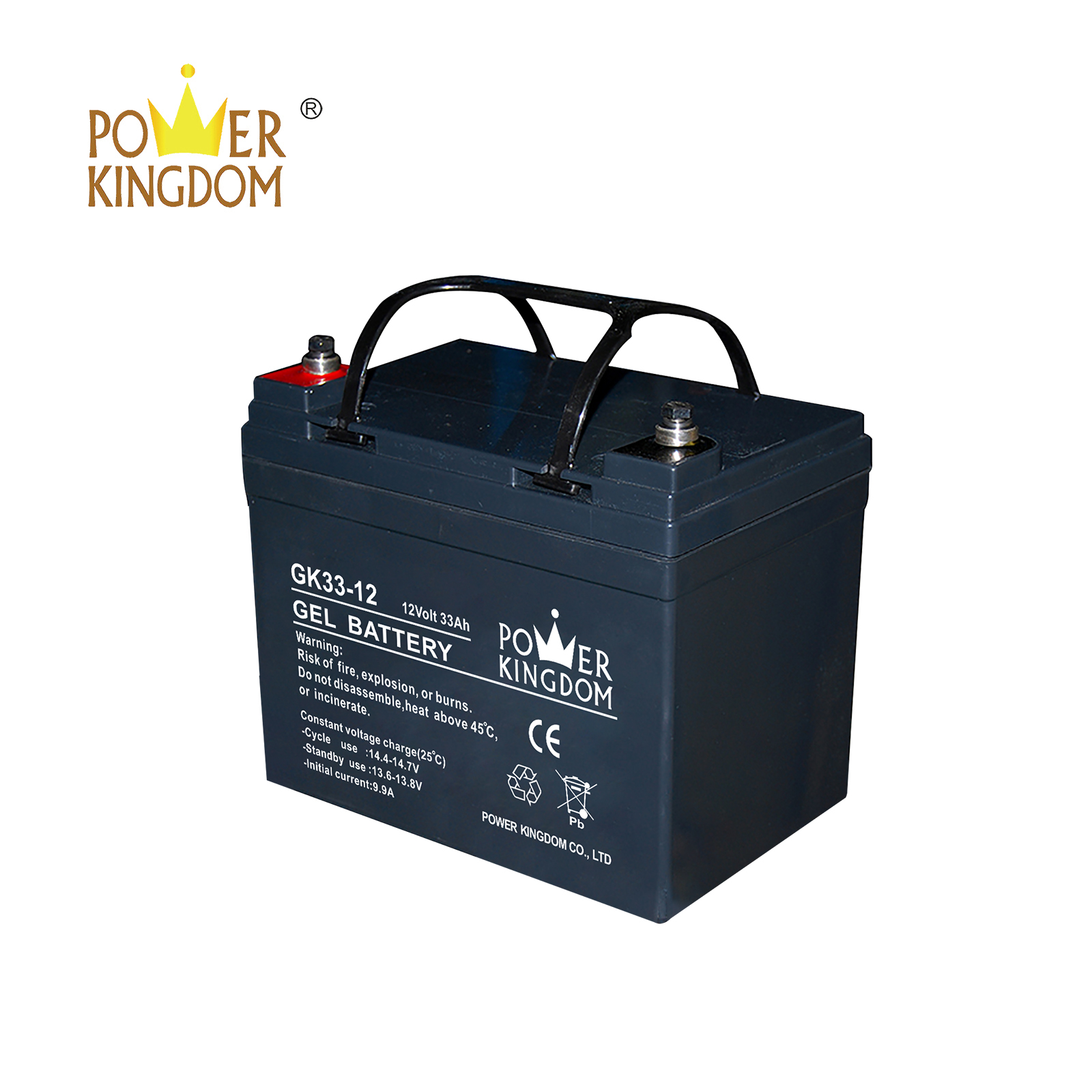 Power Kingdom higher specific energy rechargeable sealed lead acid battery inquire now wind power system-2