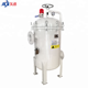 Pre ss inline industry water multi bag filter housing