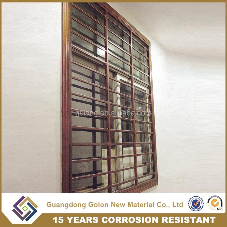 China Supplier Golon Aluminium Window Grill Design,Cheap House ...