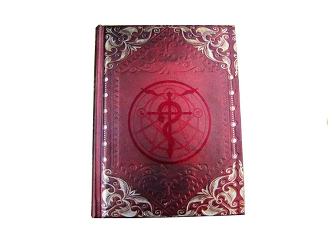 Fullmetal Alchemist Magic Notebook Cosplay Hardcover Magic Cover Diary Journal Notebook