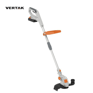 VERTAK 18V cordless grass trimmer/grass cutter stringing machine/telescopin electric weed trimmer