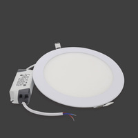 Factory supply new designed led panel light led ceiling light 3w 4W 6w 9w 15w 18w 24w ultra slim dimmable round led panel light