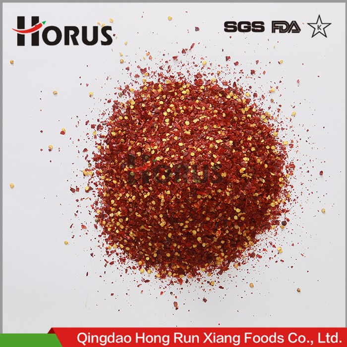 Factory whole sale New crop Red Dried Chili Sweet paprika flakes pepper crushed