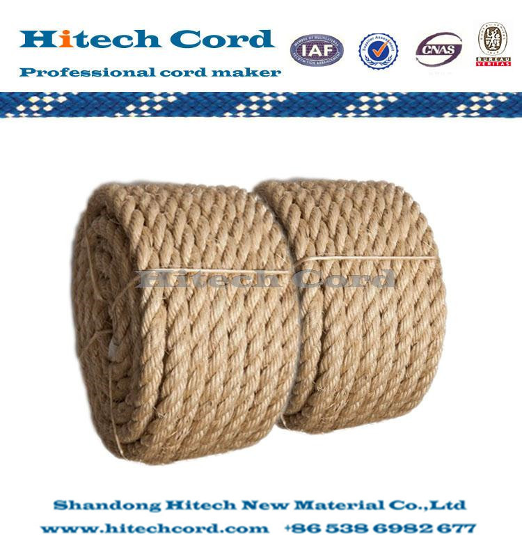 HIgh quality Jute twisted rope for sale