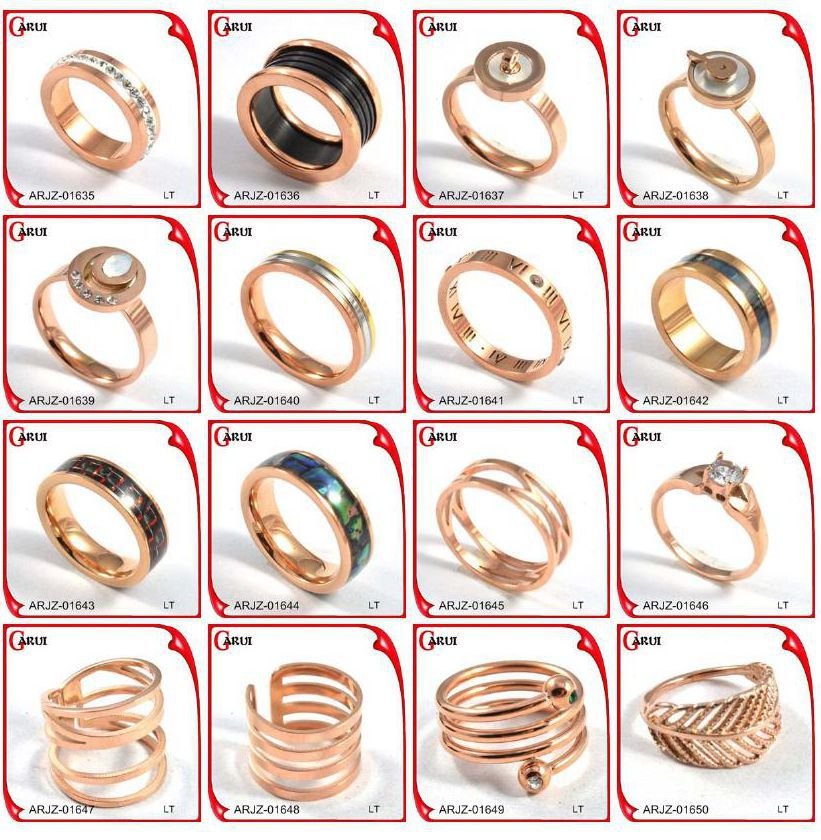 titanium ring without stone gold rings design for women gold