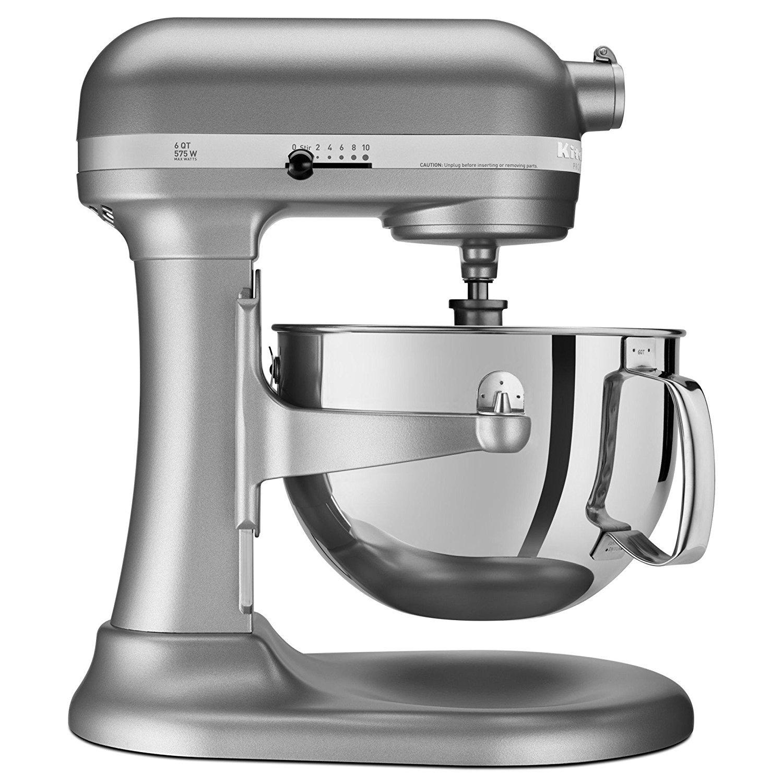 Get Quotations Kitchenaid Rkp26m1xsl Professional 600 6 Qt Bowl Lift Stand Mixer Certified Refurbished