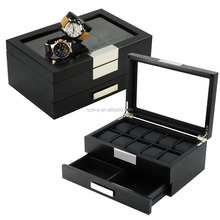 Luxury Ebony Display Watch Box