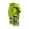 Wholesale working clothes hi vis reflective safety shorts for work